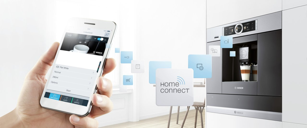 bosch home connect kávovar