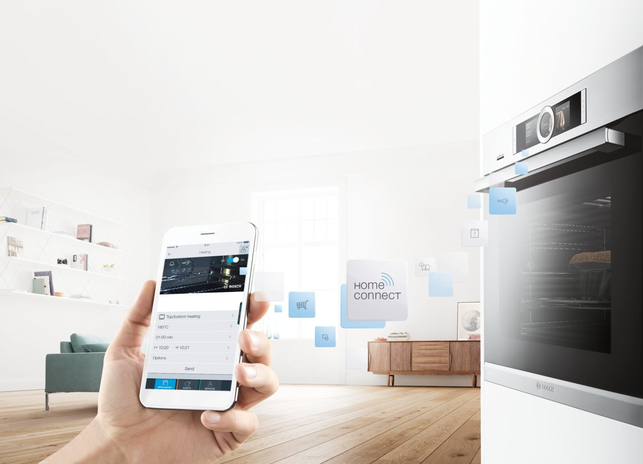 bosch home connect - trouba